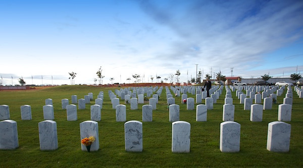 WREATHS ACROSS AMERICA- MIRIMAR NATIONAL CEMETARY- 2012