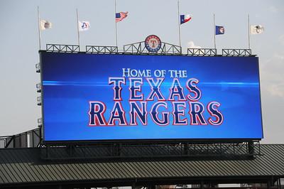 7-23-2012 Munck Wilson Law Firm @ Rangers Baseball