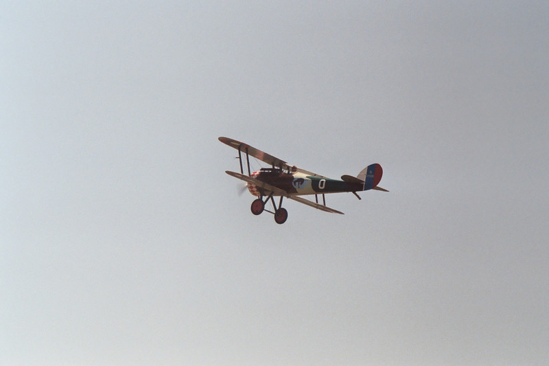 Nieuport 28 fly-by