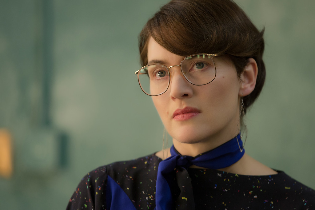 """. This image released by Universal Pictures shows Kate Winslet in a scene from \""""Steve Jobs.\"""" Winslet was nominated for an Oscar for best supporting actress on Thursday, Jan. 14, 2016, for her role in the film. The 88th annual Academy Awards will take place on Sunday, Feb. 28, at the Dolby Theatre in Los Angeles (Francois Duhamel/Universal Pictures via AP)"""