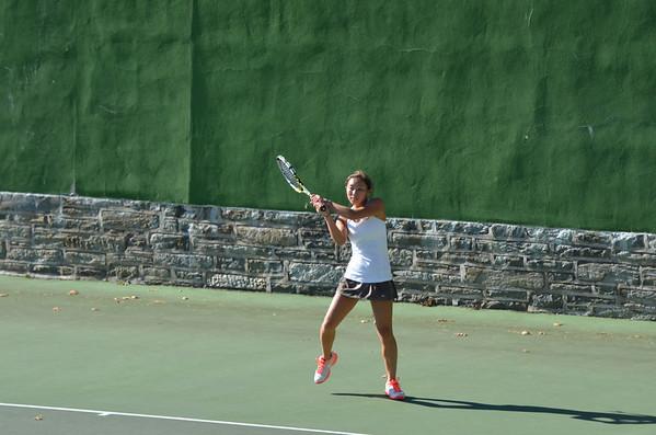 2013-09-25 Girls Tennis v Delco Christian