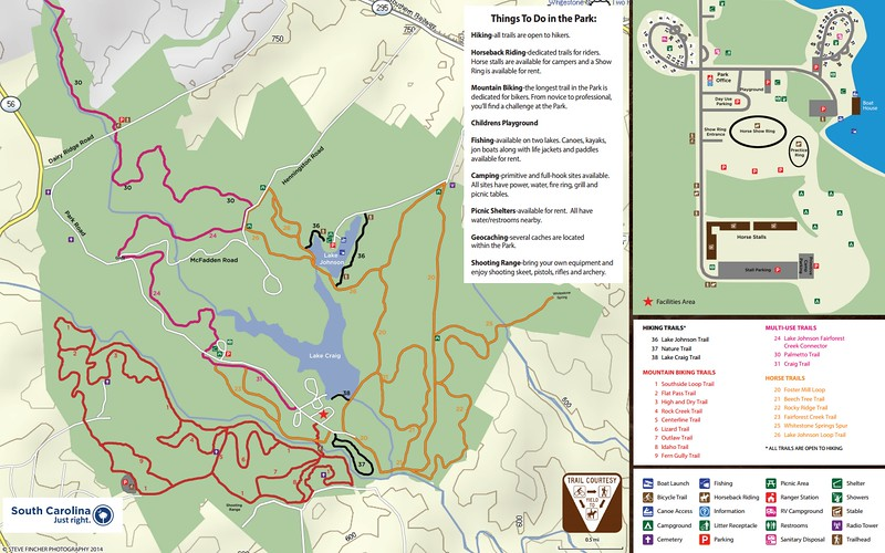 Croft State Park (Trail Map)