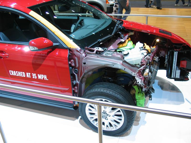 Volvo 35MPH crash