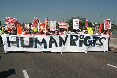 Thursday: Immigrant Rights March