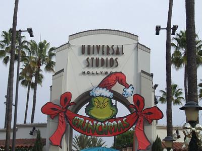 Universal Studios Hollywood/Grinchmas - 12/21/09