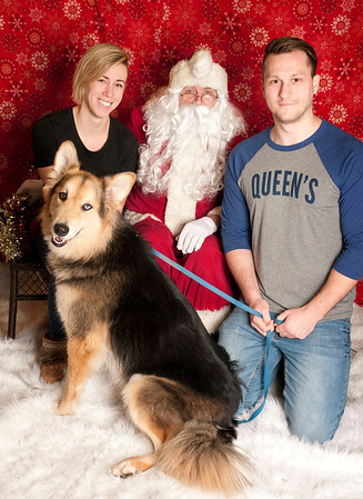 Global Pet Foods Kanata - Photos with Santa 2017