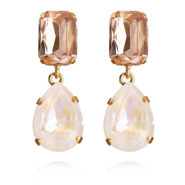 Lydia Earrings / Light DeLite + Light Peach
