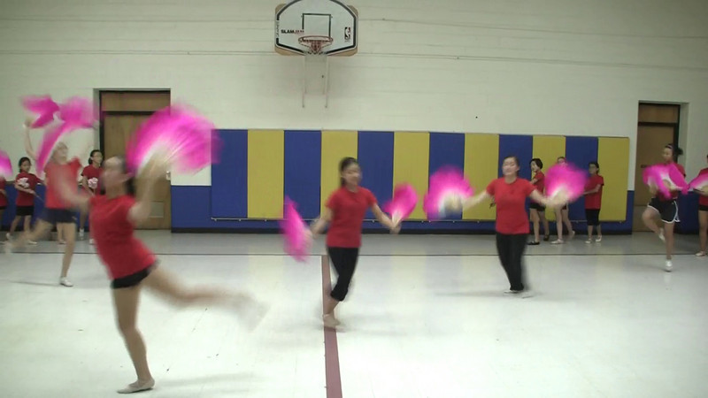 """""""Fan and Ribbon""""  8/8/2010 CACC Dance Camp"""