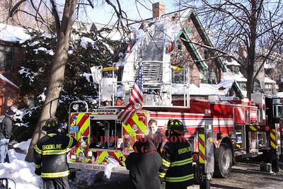 Brookline, MA - 3rd Alarm, 71 Griggs Road, 1-17-11