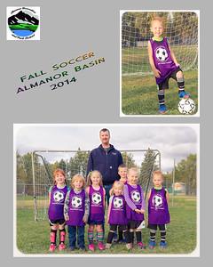 Soccer - Fall 2014 - Team Photos