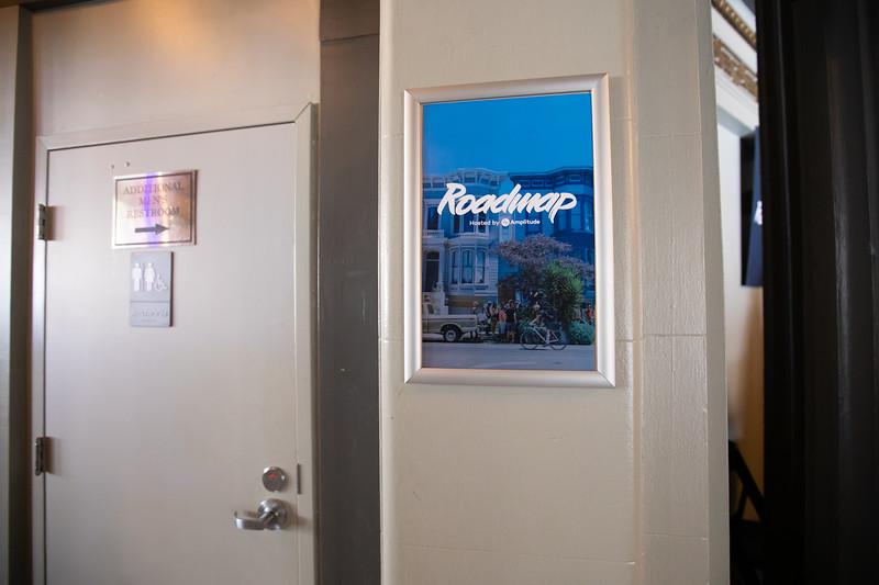 RoadMap SF Amplitude @Amplitude_HQ #roadmap Show Sponsors @womenpm @Optimizely & @segment