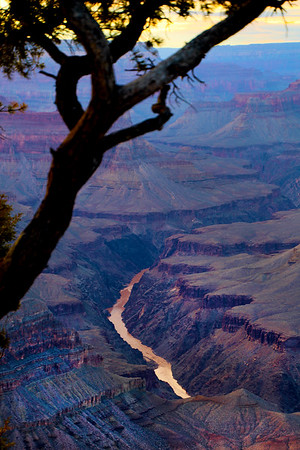 Grand Canyon National Park--South Rim scenic views