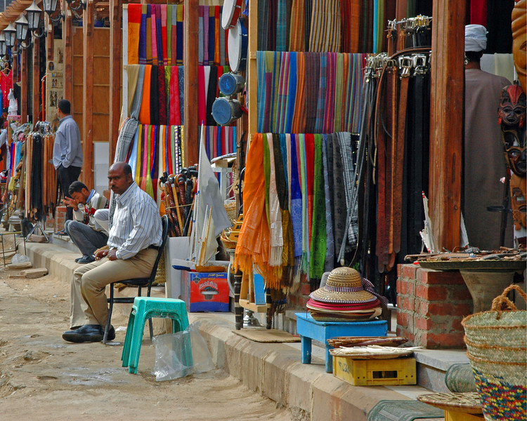 souqs of aswan