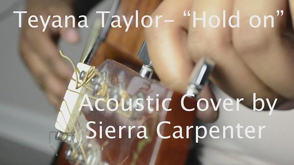 "SIERRA-""HOLD ON"" COVER"