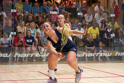 2011-07-23 Quarterfinals: Emily Whitlock (England) and Olivia Blatchford (USA)