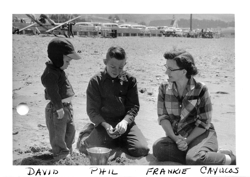 David, Phil, Frankie  May 13, 1956
