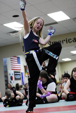 Annika's Purple Belt Testing 12/4/2009