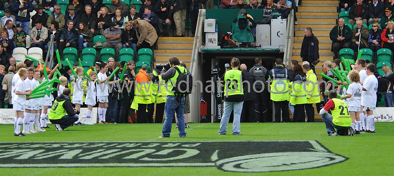 Northampton Saints vs Worcester Warriors, Guinness Premiership, Franklin's Gardens, 7 September 2008