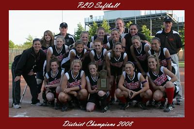 PLD Softball District Champions 2008