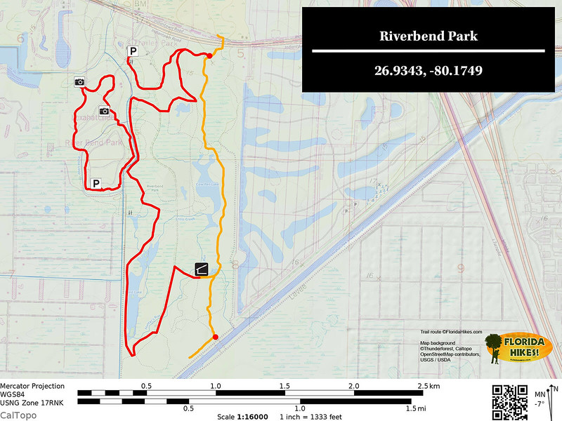 Riverbend Park Trail Map