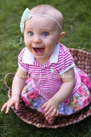 Maine Children's Photographer - William + Mackenzie  9 month session