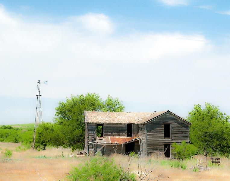 Highway 82 East of Dickens, Texas, 2000