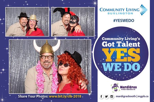 Community Living's Got Talent Yes We Do - 2018