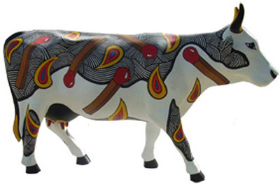 3 La vaca más prendida-Artista Isis Eglé-Sponsor Organización Drea