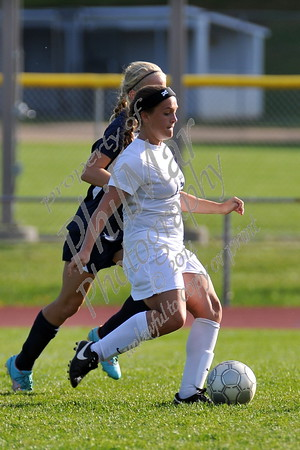 Wyomissing vs Kutztown Girls High School Soccer 2015 - 2016