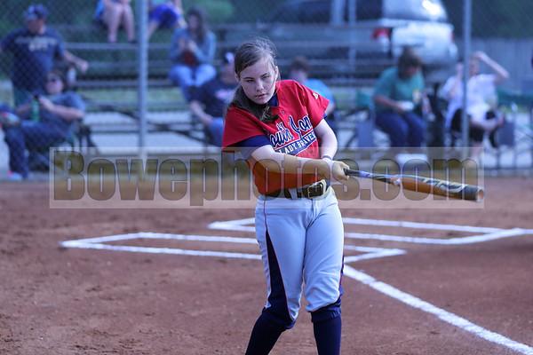 South Jones at West Jones (2013 JV & Varsity softball)