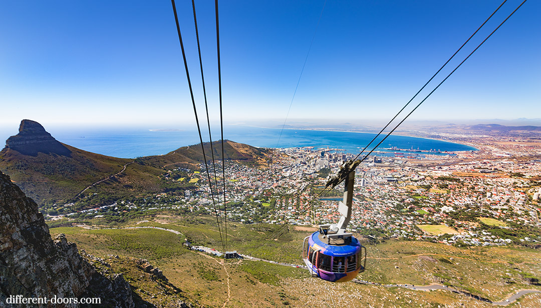 Table Mountain, Cape Town, South Africa, hiking, cable car