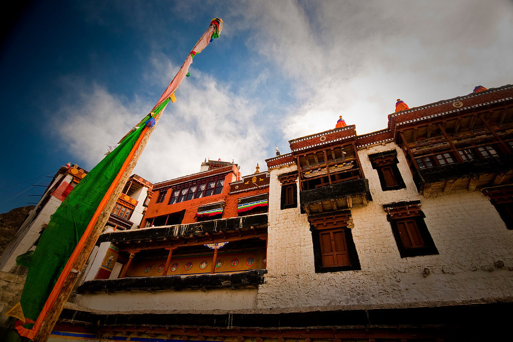 The Diskit & Hundur Gompas of Ladakh are situated in the Nubra Valley of the Ladakh region. Built by Changzem Tserab Zangpo, a disciple of Tsong-kha-pa, the Diskit Gompa dates back to the 14th century. There is a legend attached to this monastery. It goes that a Mongol demon, a sworn enemy of Buddhism, was annihilated near the monastery. However, his lifeless body kept coming back there again and again. It is further said that the wrinkled head and hand of the demon are still kept there in a dark and claustrophobic temple, packed with fierce Gods and Goddesses.....