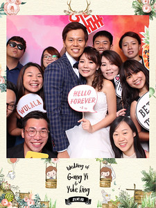 Wedding of Gang Yi & Yoke Ling
