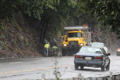 PennDOT Workers, SR309, Hometown Hill, Hometown (9-28-2011)