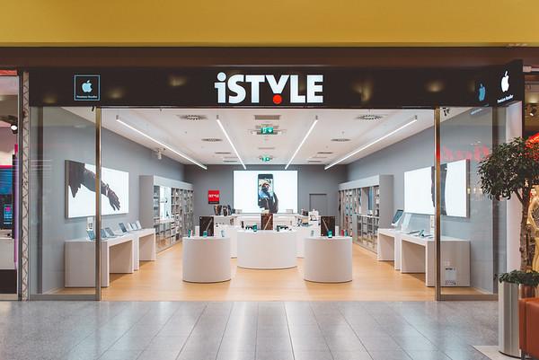 iStyle :: Fotodokumentace nove prodejny v Brne v Olympii