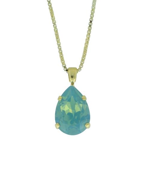 Mini Drop Necklace / Pacific Opal