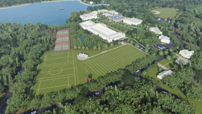 New Fields Under Construction