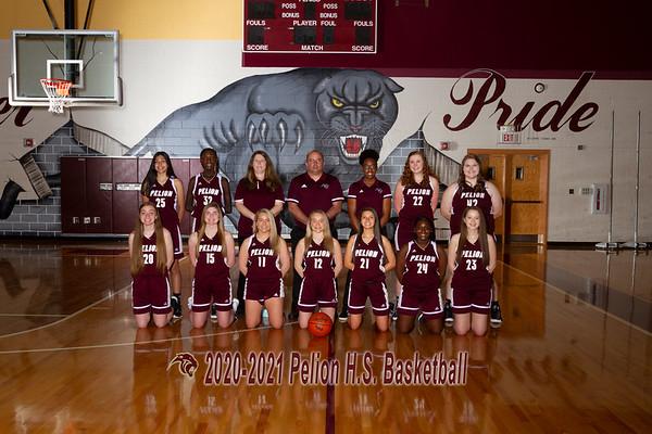 2021 Basketball Girls Varsity