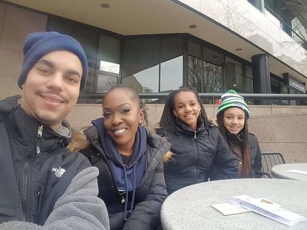 MLK Day March in Seattle, Jan 16, 2017 Jason Hester, YWCA staff