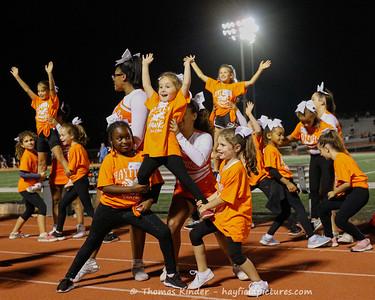 Varsity Cheer at Lake Braddock Football Game 9/13/19