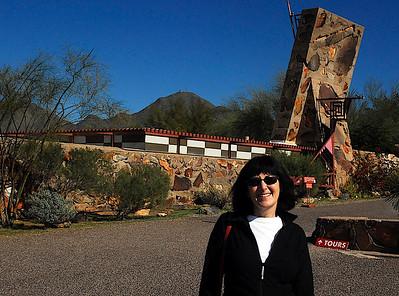 Taliesin West Arizona Jan 09