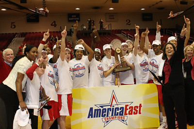 2011 America East Championship Celebration, cont.