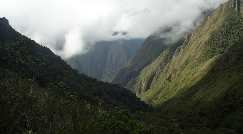 Andean scenery.