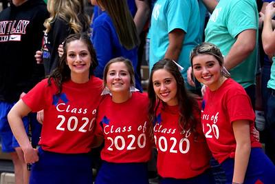 LB Cheerleaders' Senior Night (2020-02-21)