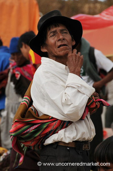 At the Weekly Market - Tarabuco, Bolivia