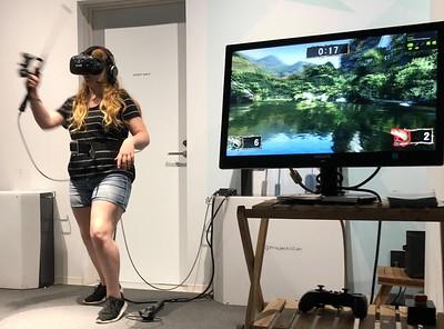 VR, Onigiri-love, & Green Fairies (Dodgeball) JP 2018