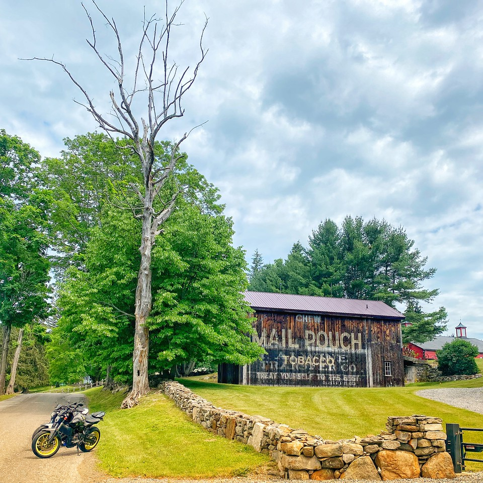 mail pouch tobacco barn duchess county new york yamaha fz07 motorcycles