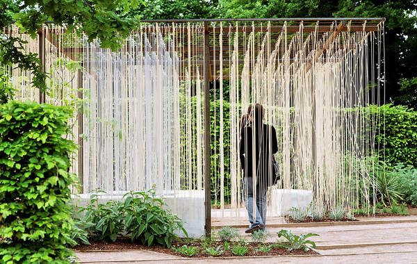 """2009 - Jardins de couleur - Festival des Jardins de Chaumont - Jardin """"La Halte des teinturiers"""""""