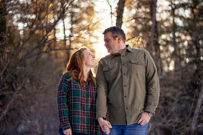 Kaitlyn & Ben - Battleship Rock Winter Engagement