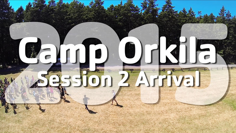 YMCA Camp Orkila 2015 | Session 2 Arrival